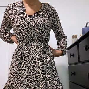 Dynamite Cheetah Print Dress